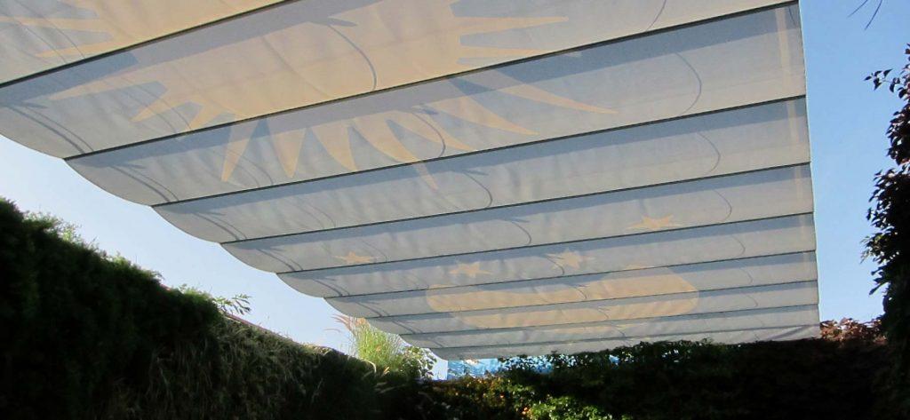 Sonnenschutz Innenhof