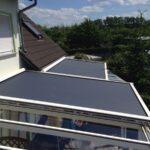 Sonnenschutz Terrassendach außen
