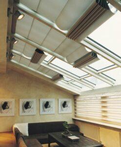 Terrassendach-Beschattung elektrisch