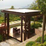 Terrassenüberdachung Sonnenschutz