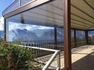Wetterschutzrollo Terrasse